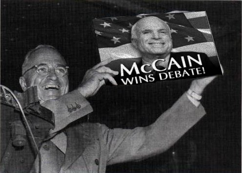 McCain Defeats Truman
