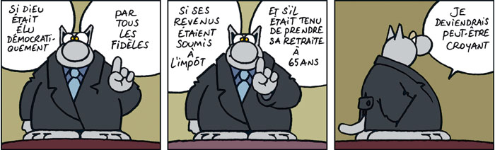 Le Chat, by Philippe Geluck