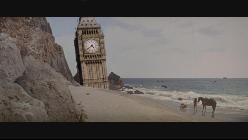 Tower of Parliament in Planet of the Apes